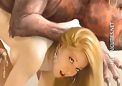 huge cock cartoon porn