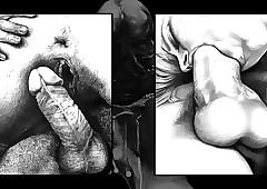 free cartoon porn drawings